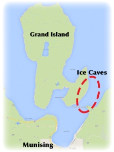 Google map_Munising-Grand Island